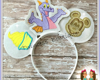 Character Food Mouse Ears Headband by Twincess Bowtique - CUSTOM