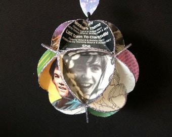 Monkees Album Cover Ornament Made Of Record Jackets - Davy Jones