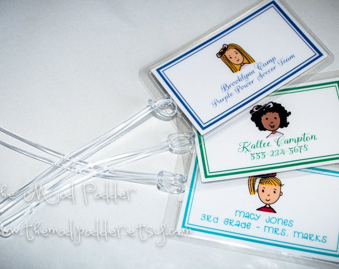 Kid's Luggage Tag - Custom Made