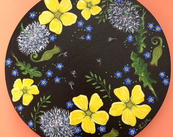 Weeds and Forget-Me-Nots