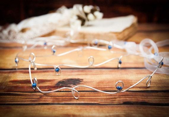STEFANA Wedding Crowns - Orthodox Stefana - Bridal Crowns MINOAN-One Pair