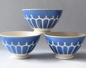 "Vintage French Cafe au Lait Chocolate Single Bowl Niderviller Large 6"""