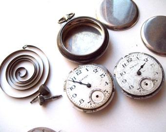 Antique Pocket Watch Parts