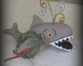 The Terrible Dogfish Ornament E-PATTERN by cheswickcompany