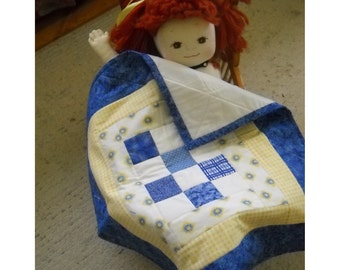 Cottage Chic Doll Quilt