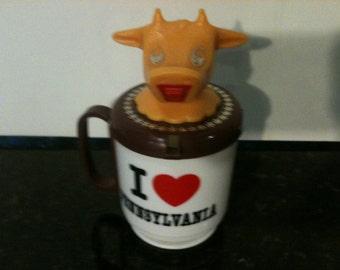I Love Pennsylvania Plastic Cup