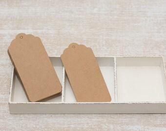 10 paper kraft tag