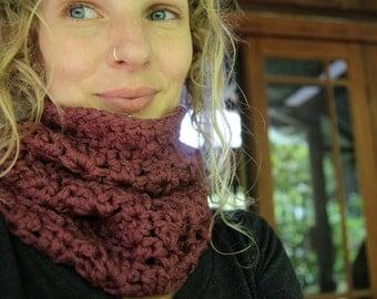 Super Thick Crochet Cowl