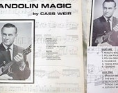 Cass Weir, Mandolin Magic, Vintage Vinyl Record, Anet Records 6062N7, Rare, Collector's Item, Polka Music