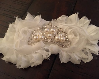 White Tiara Headband