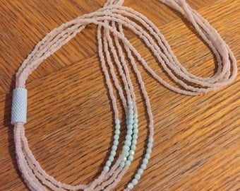Bead Bound Multi Stran Necklace