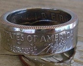 1979 Susan B. Anthony Dollar Coin Ring (Available in sizes 7 through 10)