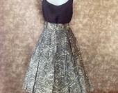 50s circle skirt / mexican skirt