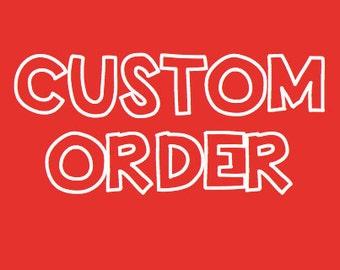 Custom order for Edith - necklace Scheherazade, by Anne Schelling, SRA