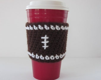 Football Coffee Cup Cozy