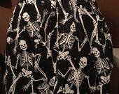 Skeletons Elastic Skirt