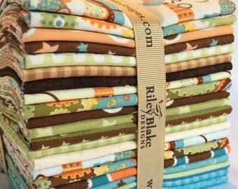 Mod Tod Fat Quarter Bundle by Sheri Berry Designs from Riley Blake