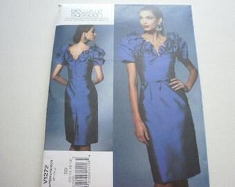 Pattern Ladies Dress Sizes 12 to 18 Bellville Sassoon Designs Vogue 1272