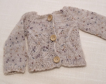 Waldorf Doll Clothes - Doll Sweater , fit 18 - 20 inch dolls