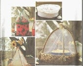 SALE Food Tents Food Baskets Picnic Food Protectors Party Entertaining Food Service Catering Tents Simplicity 9308 Uncut FF Sewing Pattern