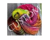 Silky Merino Light - Fly Away shawl kit - Colour Adventures (fibers: merino, silk)