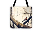 Art Tote Bag Robin Red Breast fine art photography Fashion
