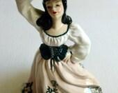 Vintage Florence Ceramics Pasadena California Figurine/ Vase/ Candle holder