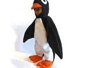 Penguin Halloween Costume for 18 inch doll black white orange clearance sale boy doll or girl doll