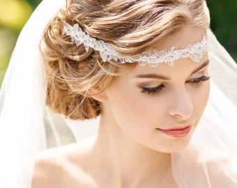Bridal Headband, Crystal Bridal Headband, Bridal Headpiece, Wedding Hair Accessories, Rhinestone Bridal Headband, Bridal Hair