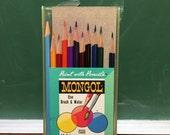 Vintage Mongol Watercolor Colored Pencils