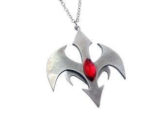 Yu-Gi-Oh Zexal Ryoga Kamishiro necklace - Handmade - Stainless Steel