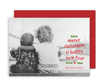 Playful Wishes Holiday Card