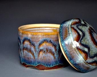 Pottery Jar Ceramic Jar Stoneware Jar Hand Made Jar B