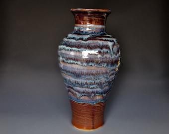 Tall Large Pottery Vase Stoneware Flower Vase Handmade Ceramic Vase Pottery C