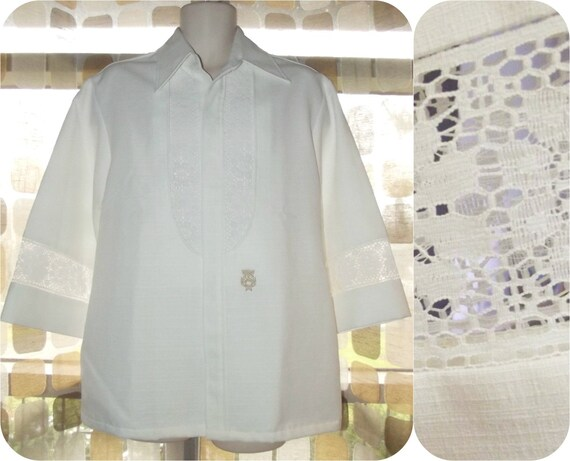 items similar to vintage 60s mens hawaiian shirt 1960s