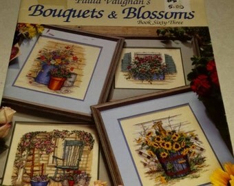 Cross Stitch Designs Book Boutiques and Blossoms .