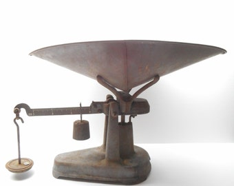 Vintage Fairbanks Weight Scale