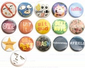 Trending button or magnet 1-inch