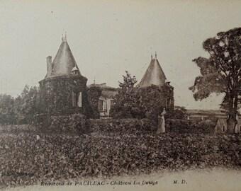 Unused French Vintage Postcard - Château La Douys, Pauillac, France