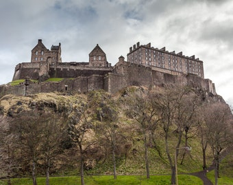 Edinburg Castle, Scotland Photography