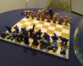 Starcraft Chess Set Complexity Upgraded Version