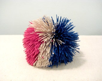 Vintage Red White And Blue Koosh Ball