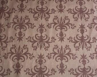 SALE Valori Wells Fabric - Chandelier in Earth - 1 Yard