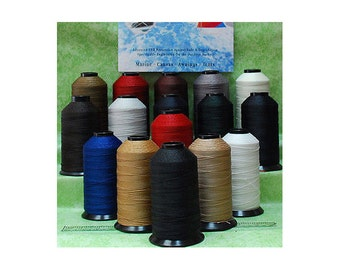 T270 V-277 Bonded Nylon Sewing Thread  for Outdoor, Leather, Bag, Shoes, Canvas, Upholstery 800 YDS