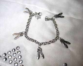 Ballet Slippers Charm Bracelet