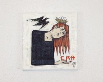 New Era // Original 10 x 10 in. painting on canvas
