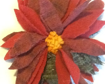 Proddy Pointsettia Pin