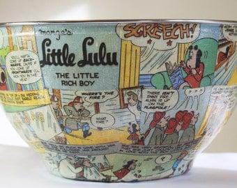 Little Lulu Cartoon Popcorn Bowl