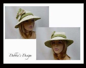 Women's Handmade Cloche Hat-22 Women's Handmade Cloche, Women's Cloche Hats, Accessories, Cloche Hats, Vintagew
