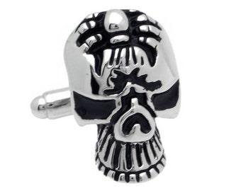 Spider Skull Cufflinks